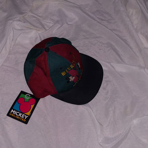 NWT Vintage 80's MICKEY MOUSE Unlimited Mens Hat